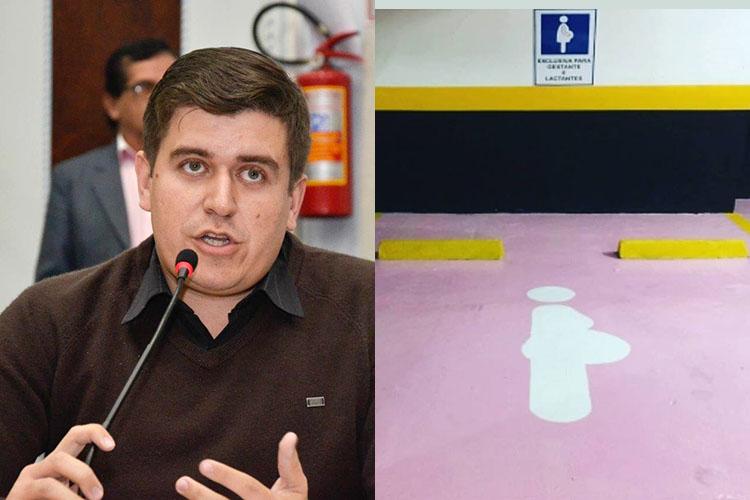 O projeto de autoria do vereador Vinícius Camargo, altera a Lei Municipal que dispõe sobre a reserva de vagas preferenciais para mulheres gestantes e com crianças de colo nos estacionamentos públicos e privados de Ponta Grossa