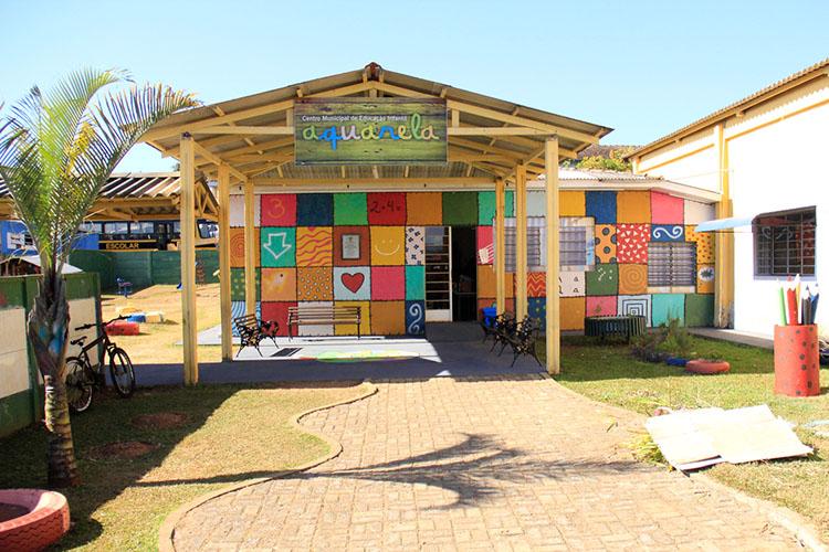 A Escola Municipal Professor Aroldo e o Centro Municipal de Educação Infantil Aquarela passarão por reformas e reparos para receber os alunos no retorno às aulas