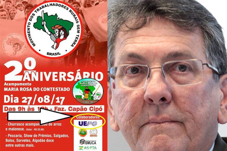 """A atual administração da UEPG, que tem como reitor Carlos Luciano Sant'Ana Vargas, possui estreitas ligações com o PT. A sua eleição foi apoiada pelos """"intelectuais"""" petistas ligados ao deputado estadual Péricles de Holleben Mello"""