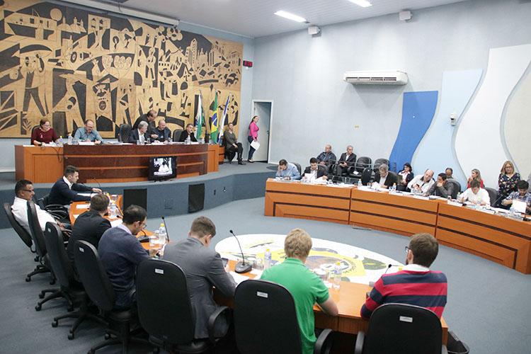 Ainda hoje, os vereadores realizam a composição das sete comissões permanentes da Casa
