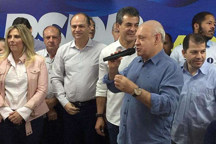 O prefeito Marcelo Rangel disse que somente irá comentar sobre a sua filiação no PSDB e a conversa que manteve com o governador de São Paulo, Geraldo Alckmin, na semana que vem